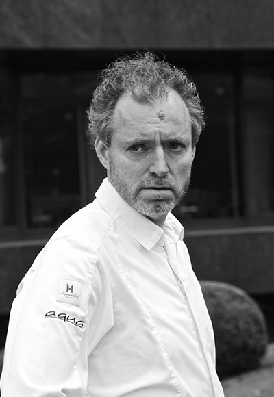 Drei-Sterne-Koch Sven Elverfeld aus dem Aqua Restaurant