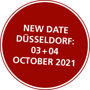 New date Düsseldorf: 03 - 04 October 2021